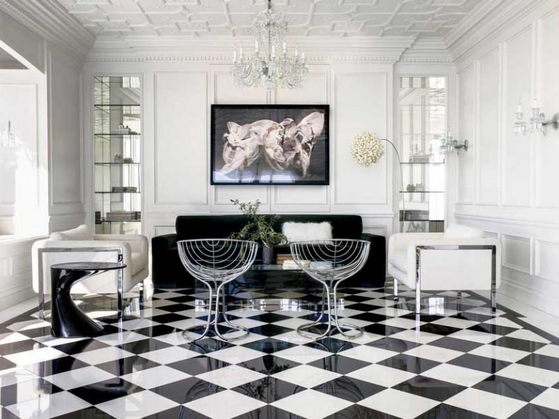 blackwhite floor central