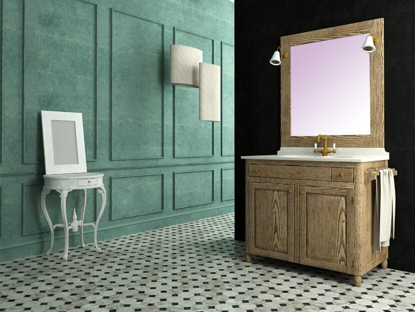 vintage έπιπλα για το μπάνιο