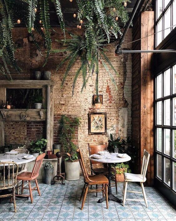 Το café που θυμίζει loft